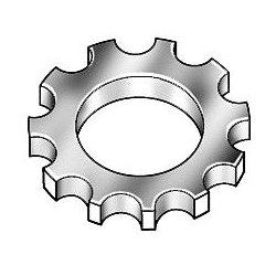 Other - U37420.025.0001 - Lock Washer, Bolt 1/4, Carbon Stl, PK100
