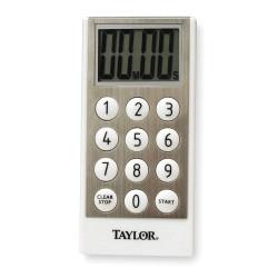 Taylor Precision - 5850 - Digital Timer, 10 Key Input Pad, Alarm