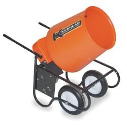 Kushlan Products - 350W - Wheelbarrow Mixer, 3.5 Cu. Ft., 120V, 3/4HP