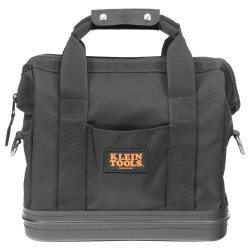 Klein Tools - 5200-15 - Klein Tools 15' X 8' X 14 1/2' Black Cordura Ballistic Nylon Tool Bag With (8) Interior And (2) Exterior Pocket