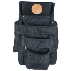 Klein Tools - 5703 - Black Tool Pouch, Cordura® Nylon, Fits Belts Up To (In.): 2