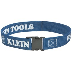 Klein Tools - 5204 - Blue Utility Belt, Polypropylene Webbing, One Size Fits All Waist Size