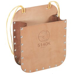 Klein Tools - 5140K - Brown Strao-Leather Bag, Leather