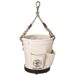 Klein Tools - 5171PS - Canvas Bucket, Natural Canvas