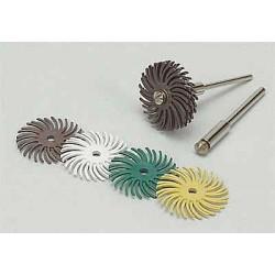 Scotch-Brite - 27613 - 1 Radial Bristle Disc, Curved Bristles, Arbor, 120 Grit, Package Quantity 96