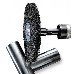 Scotch-Brite - 01032 - 6 Unitized Wheel, 1 Width, 5/8 Mounting Size, Silicon Carbide, Hard (7), Extra Coarse, CS-UW, PK2