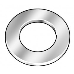 Accurate Mfd Products - 2DMC4 - Stainless Steel Arbor Shim, 18-8 Grade, 0.0050 Thickness, +/-0.0005 Thickness Tolerance