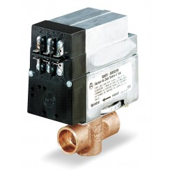 White Rodgers / Emerson - 1311-102 - NC Sweat 3/4 Motorized Zone Valve, 24VAC, 23.5Cv, Terminal Board