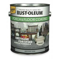 Rust-Oleum - 244853 - Gloss Acrylic Urethane Floor Coating, Pure White, 1 gal.
