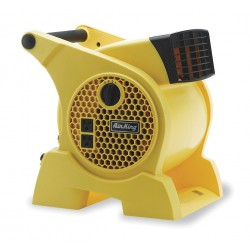 Air King - 9566 - 0.95/0.80/0.70 Amps Portable Blower Fan, 350 CFM High, Safety Yellow