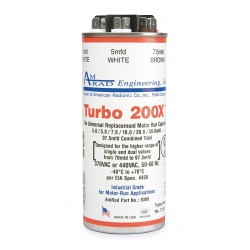 AmRad Engineering - TURBO 200X - Round Motor Run Capacitor, 5-97.5 Microfarad Rating, 370-440VAC Voltage