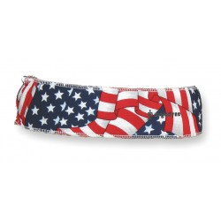 Ergodyne - 12421 - Chill-Its 6605 Stars and Stripes High-Performance Headband