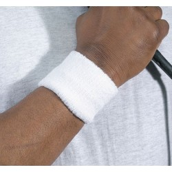 Ergodyne - 12400 - Chill-its 6500 Wrist Sweatband Onesize White
