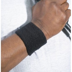 Ergodyne - 12402 - Chill-its 6500 Wrist Sweatband Onesize Black