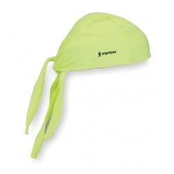 Ergodyne - 12476 - Ergodyne Lime Chill-Its 6615 Fabric High Performance Dew Rag