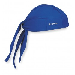Ergodyne - 12481 - Chill-its 6615 High Performance Dew Rag Blue