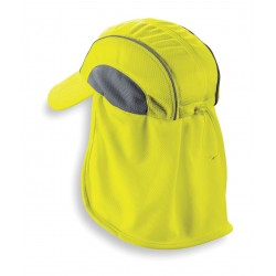 Ergodyne - 12520 - Cooling Hat, Moisture Wicking Fabric, Lime, Universal