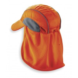 Ergodyne - 12521 - Cooling Hat, Moisture Wicking Fabric, Orange, Universal