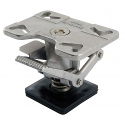 Other - FL-ADJ-46-SS - Adjustable Floor Lock, Top Plate, 8 in.