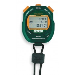 Extech Instruments - 365535-NIST - Digital Stopwatch, Decimal Display, NIST