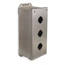 Telemecanique / Schneider Electric - 9001KYSS3 - Pushbutton Enclosure, 1, 3, 4, 4X, 13 NEMA Rating, Number of Columns: 1