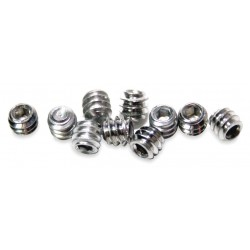 Acorn Aqua - 0181-012-001 - Cup Point Allen Head Set Screws, 304 Stainless Steel, For Use With Shower Heads
