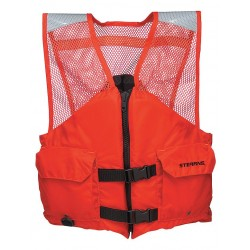 Stearns - 2000011409 - Flotation Vest, Orange, Nylon, Small