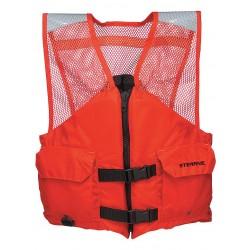 Stearns - 2000011414 - Flotation Vest, Orange, Nylon, 3XL