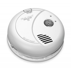 BRK Electronics - 7020B - BRK-First Alert 7020B Smoke Alarm, Photoelectric, 120V AC