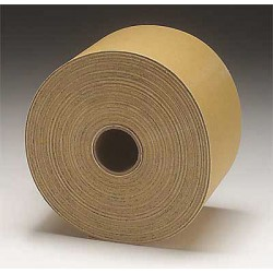 3M - 02591 - 3M 02591 Stikit Gold Sheet Roll, 02591, 2 3/4 in x 45 yd, P320A, 10 per case