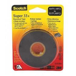 3M - 33-1-1/2X44FT - Black Flame Retardant Vinyl Electrical Tape, 1-1/2 Width, 44 ft. Length, 7.00 mil Thickness