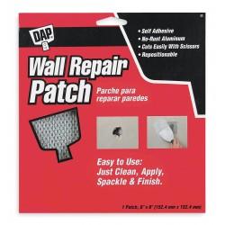 Dap - 9146 - Wall Repair Patch, Self-Adhesive, 6 x 6 In