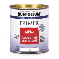 Rust-Oleum - 207016 - Exterior Primer with 100 sq. ft./gal. Coverage, Flat White, 1 qt.
