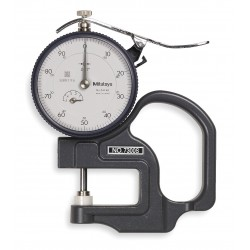 Mitutoyo - 7300S - Dial Thickness Gage, 0 to 0.500 In.