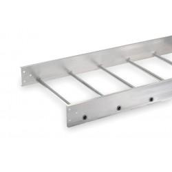 Allied - 1B48-24SL-12-09 - 12 ft. Aluminum Ladder Tray, 75 lb. per ft., 12 ft. Span Capacity