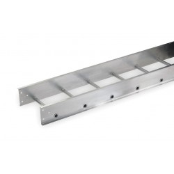 Allied - 3B48-12SL-12-09 - 12 ft. Aluminum Ladder Tray, 100 lb/ per ft., 12 ft. Span Capacity