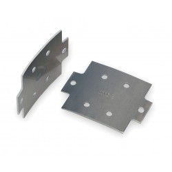 Allied - 48-02RC - Aluminum Ladder Tray Splice Plate, For Use With Cope 4 Load Depth Aluminum Ladder Tray
