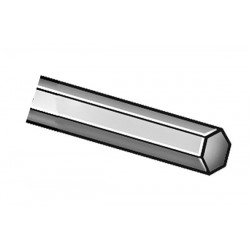 Other - 2HJN6 - Hex Rod, Steel, 1018, 1 1/4 In Hex x 6 Ft