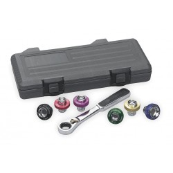 GearWrench - 3870 - 7 Pc Magnetic Oil Drainplug Set