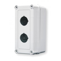 GE (General Electric) - VM533-PBM2 - Pushbutton Enclosure, 4X NEMA Rating, Number of Columns: 1
