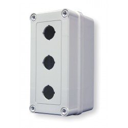 GE (General Electric) - VM733-PBM3 - Pushbutton Enclosure, 4X NEMA Rating, Number of Columns: 1