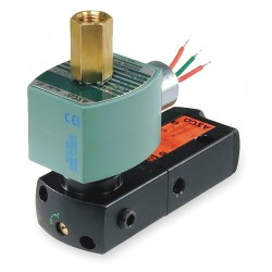 Asco - EF8551A001MS - 7-9/16 x 1-3/4 1-5/16 Pilot Solenoid Valve, 120VAC, Explosion Proof and Watertight