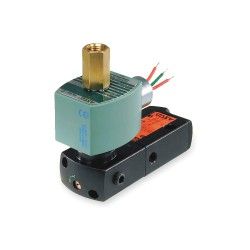 Asco - EF8551A001MS - 7-9/16 x 1-3/4 1-5/16 Pilot Solenoid Valve, 24VDC, Explosion Proof and Watertight