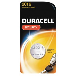 Duracell - DL2016BPK - 3.0 Volt Lithium Battery