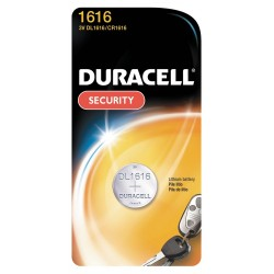 Duracell - DL1616BPK - 3.0 Volt Lithium Battery