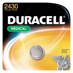 Duracell - DL2430BPK - 3.0 Volt Lithium Photo/electric Battery