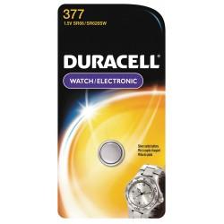 Duracell - D377BPK - Duracell D377BPK Battery, 1.55V, D377, Zinc/Monovalent Silver Oxide, Watch Battery