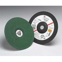 3M - 51163 - 3M 51163 Green Corps Flexible Grinding Wheel, 7 in x 1/8 in x 5/8-11 Internal 36, 10 per inner 20 per case
