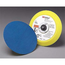 3M - 05576 - 6 Adhesive/PSA Disc Backup Pad, 5/16-24 Threaded Shaft Back Mount, 12, 000 Max. RPM, 10 PK