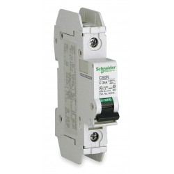 Telemecanique / Schneider Electric - 60106 - Miniature Circuit Breaker, 5 Amps, C Curve Type, Number of Poles: 1